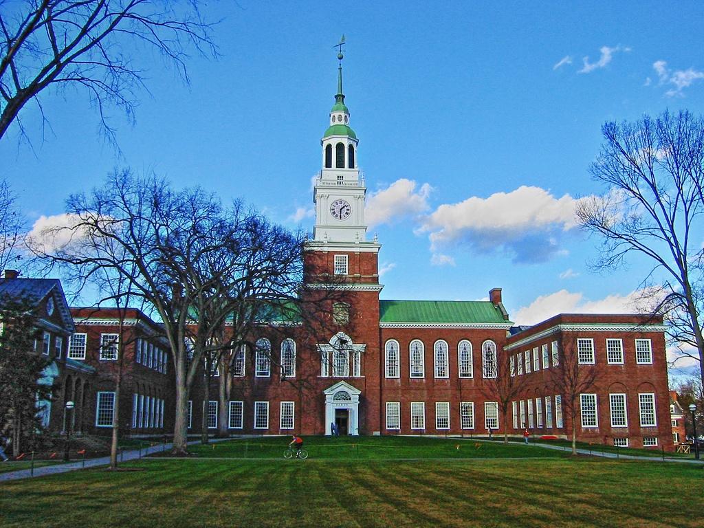 コロニアル・カレッジたる伝統を保持した少数精鋭のダートマス大学【IVY】。