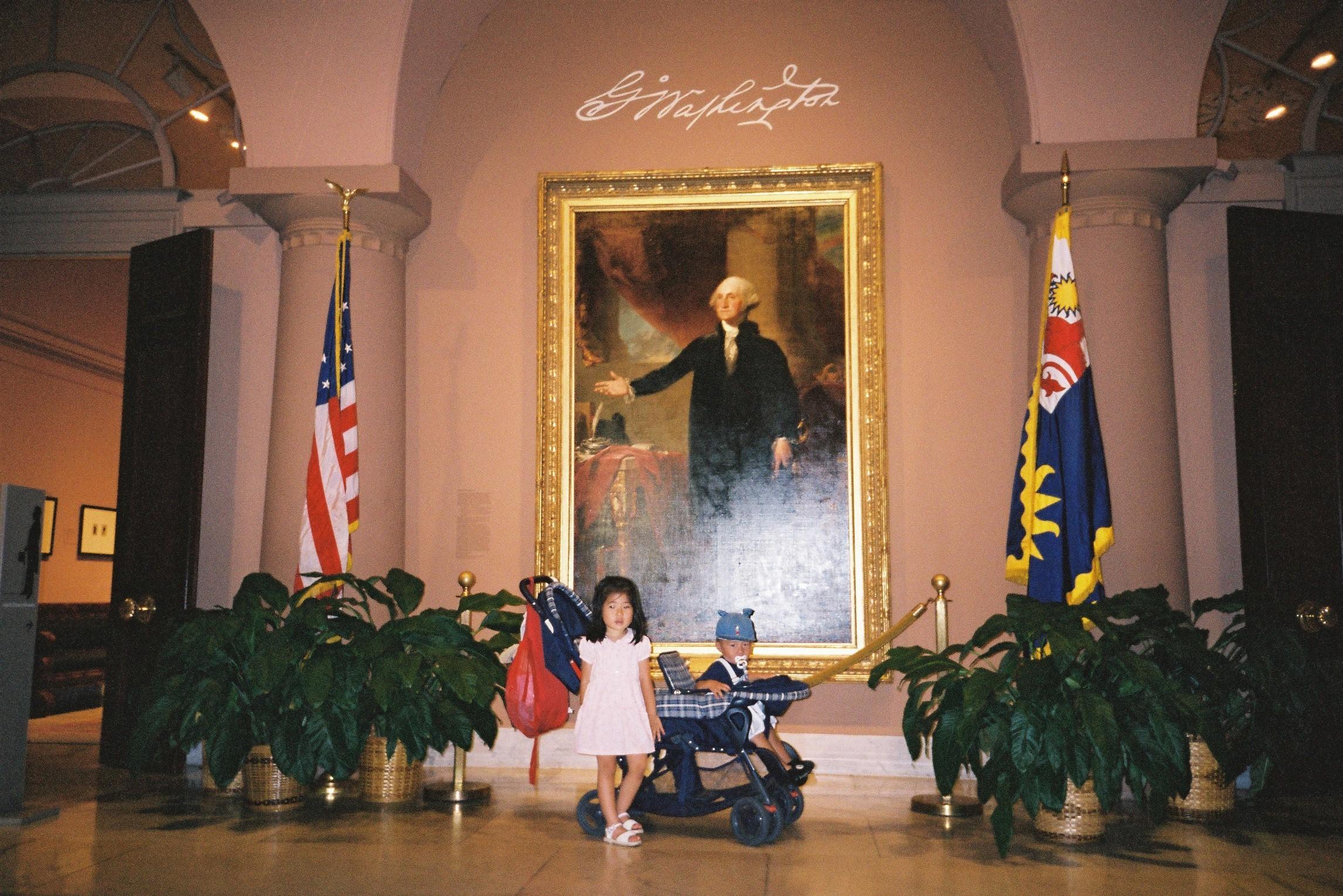 ワシントンDCに旅行に行ったとき