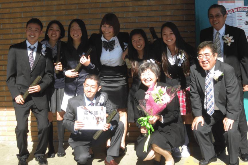 12年間、毎週土曜日に通っていた補習校。この学校がなければ、日本語は話せなかった。